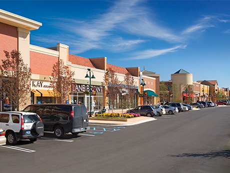 Green Oak Village Place, owned and managed by REDICO, is 485,000-square-foot shopping center in Brighton, Mich.